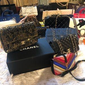 Hermès,Chanel, Gucci,Louis Vuitton,YSL Bags